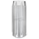 Chrome Slash Fork Slider Covers - 0208-2047-CH