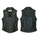 Womens Black Desire Studded Vest
