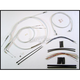 Custom Sterling Chromite II Designer Series Handlebar Installation Kit for Use w/15 in. - 17 in. Ape Hangers - 387442