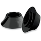 Black Tapered Front Axle Spacers - HD-SPCR-2B