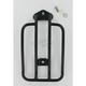 Matte Black Luggage Rack - MWL-216B