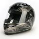 Black/Gray/Silver Evoke RPHA-10 Helmet