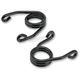 3 in. Black Electroplated Hairpin Seat Spring - 002743