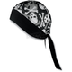 Skull and Crossbones Stretch Headwrap - BNDNA003-70