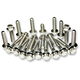 Chrome Dress Up Fastener Kit - 3035