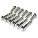 Chrome Dress Up Fastener Kit - 3040