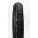 Front GS23 130/90H-16 Wide White Sidewall Tire - 302753