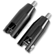 Black Anodized Rear Footpeg Mounts - FPMT501-B