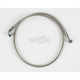 Front Clear-Coated Braided Stainless Steel Brake Line Kits - 1204-2753