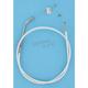 Custom Sterling Chromite II Designer Series Alternative Length Braided Throttle Cables for Custom Handlebars - 33046