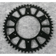 Black Anodized Rear Works Triplestar Aluminum Sprocket - 5-355950BK