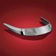 Chrome Rear Fender Tip Accent - 55-359