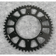 Black Anodized Rear Works Triplestar Aluminum Sprocket - 5-361950BK