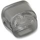 Smoke Laydown Taillight Lens w/Bottom Tag Window - 2010-0777
