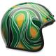 Mean Green Custom 500 Chemical Candy Helmet