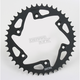 Rear Aluminum Black Sprocket - 208S-43