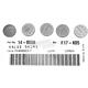 13mm Valve Shim Kit - 1.85mm - 5PK1300185