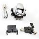 Chrome Side Hinge Ignition Switch - 2106-0252