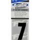 Factory 4 in. Numbers - #7 - FX08-90007