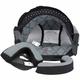 Black/Grey Bonanza Helmet Liner