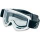 White Moto Goggles - MG-WHT-00-BK