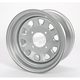 Large Bell Delta Silver Steel Wheel - 1225563032