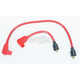 Red 8mm Pro Spark Plug Wires w/90 Degree Boot - 77231