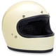 Vintage White Gringo Helmet