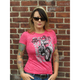 Womens Sick Boy Burnout T-Shirt
