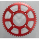 Red Aluminum Rear Sprocket - 1211-0659