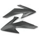Black Radiator Shrouds - HO04650-001