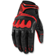 Red Overlord Resistance Gloves