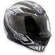 Silver Black/Blue K4 EVO Helmet