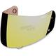Dark Gold Anti-Fog Shield for Icon Helmets - 0130-0391