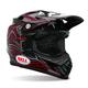 Black Moto-9 Stunt Helmet - Convertible To Snow