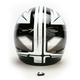 Black/Silver/White Spectrum CL-X6 Helmet