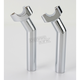 6.5 in. Chrome Risers with 1 in. Pullback - 0602-0411
