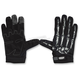 Black/White Bone Hand Gloves
