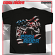 Flag Cut Out T-Shirt
