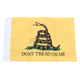 6 in. x 9 in. Dont Tread Yellow Flag - FLG-DTOM