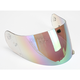 HJ-09 RST Rainbow Mirrored Shield for HJC and Joe Rocket Helmets - 19-010