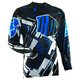 Blue Flux Block Jersey