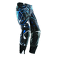 Blue Blocked Flux Pants