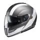 Black/Silver/White Sprint IS-MAX BT Modular Helmet