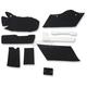 Black Lining Kit for HD Hard Saddlebags - 3501-0943