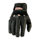 Black 243 Leather Gloves