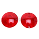 Red Flat Style Turn Signal Lens - 4996