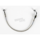 Rear Standard Length Clear-Coated Braided Stainless Steel Brake Line Kits - 1204-2736