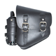 Black Solo Left-Side Bag With Fuel Bottle - 697386