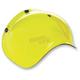 Yellow 3-Snap Bubble Shield - BV-YEL-00-SD